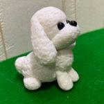 樹脂粘土で犬(トイプードル)のキーホルダーを作ってみた!
