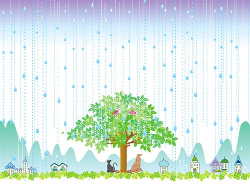 虹の橋 第三部 「雨降り地区」