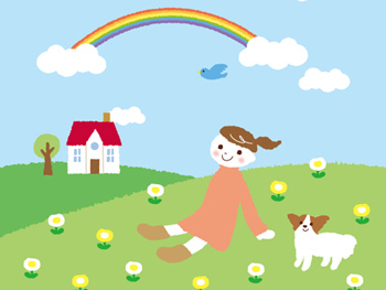 虹の橋のお話 第1部・第2部・第3部「雨降り地区」
