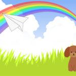 ペットロスの友へ送ったメッセージ「虹の橋からの手紙」