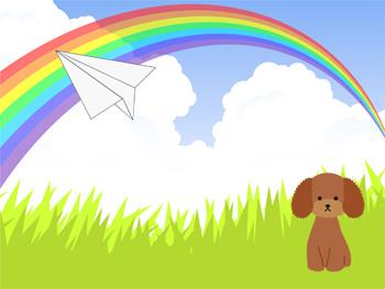 虹の橋からの手紙