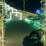 【犬連れ】 茨城フラワーパーク イルミネーション×レーザー 最終日
