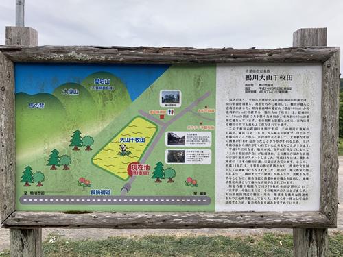 大山千枚田マップ
