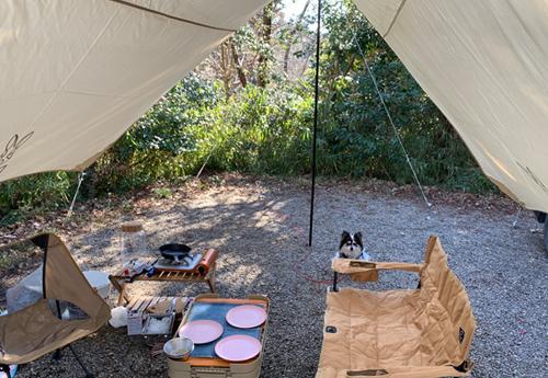 有野実苑オートキャンプ場 デイキャンプ